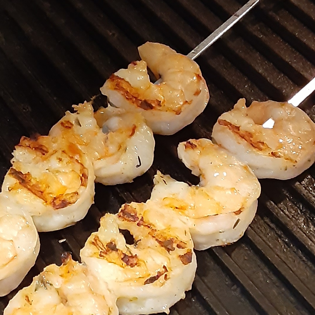 Spicy Lime Grilled Shrimp Deb C