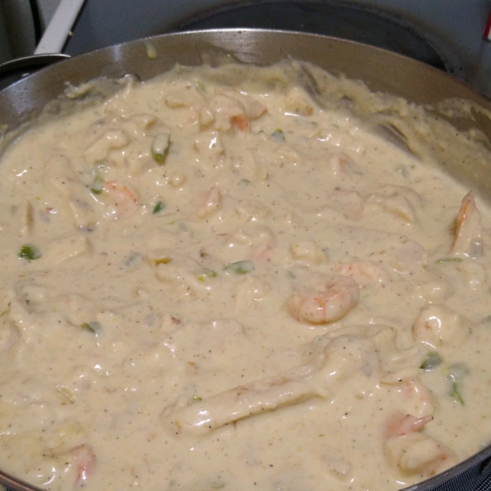 Healthier Quick and Easy Alfredo Sauce