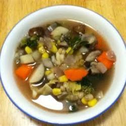 Spring Vegetable Soup CookingDiva