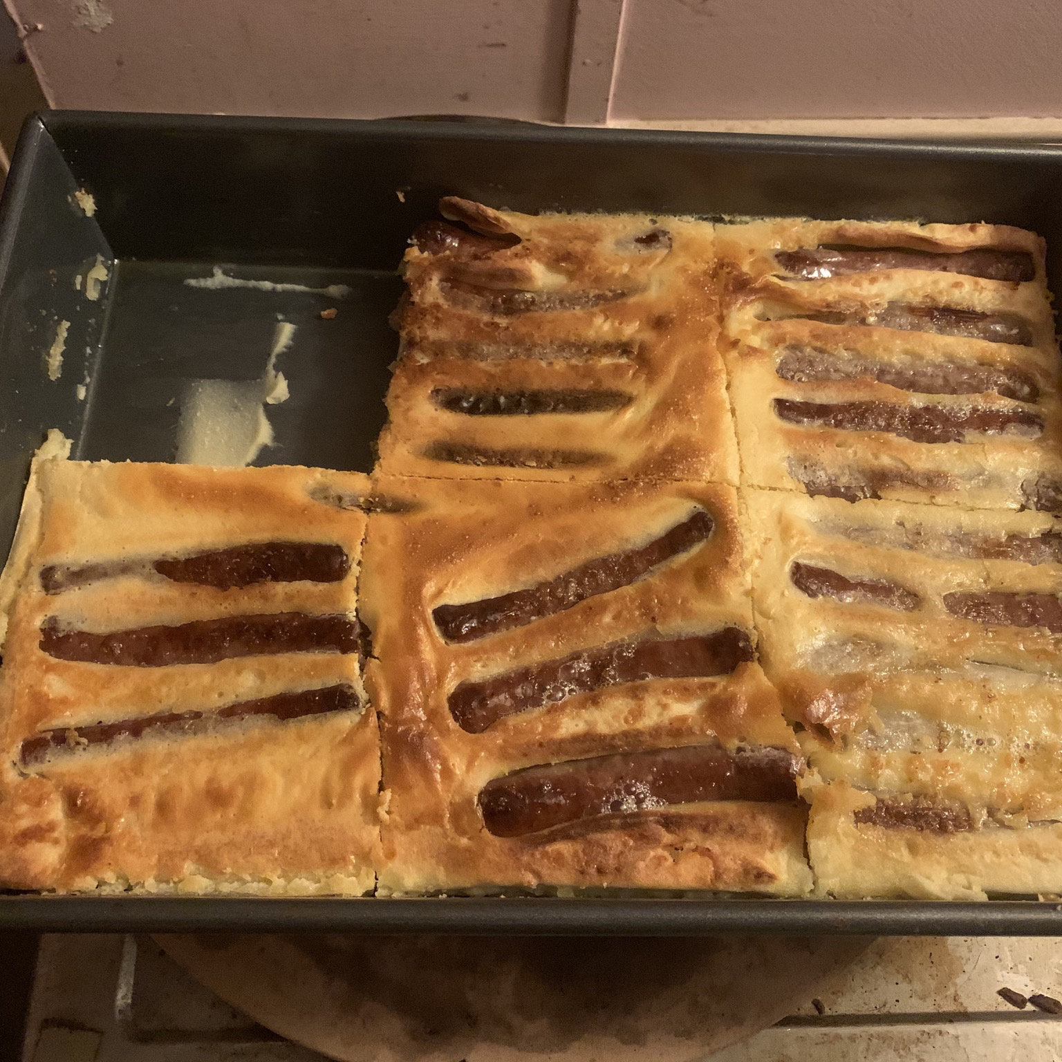 Savory Sausage Toad-in-the-Hole mixerep