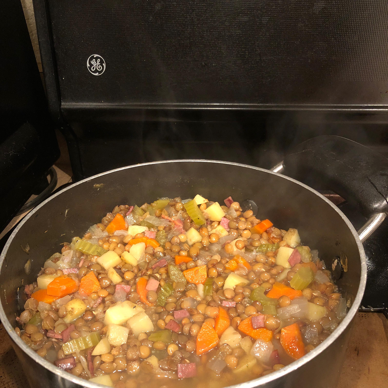 Chef John's Black Lentil Soup Meri
