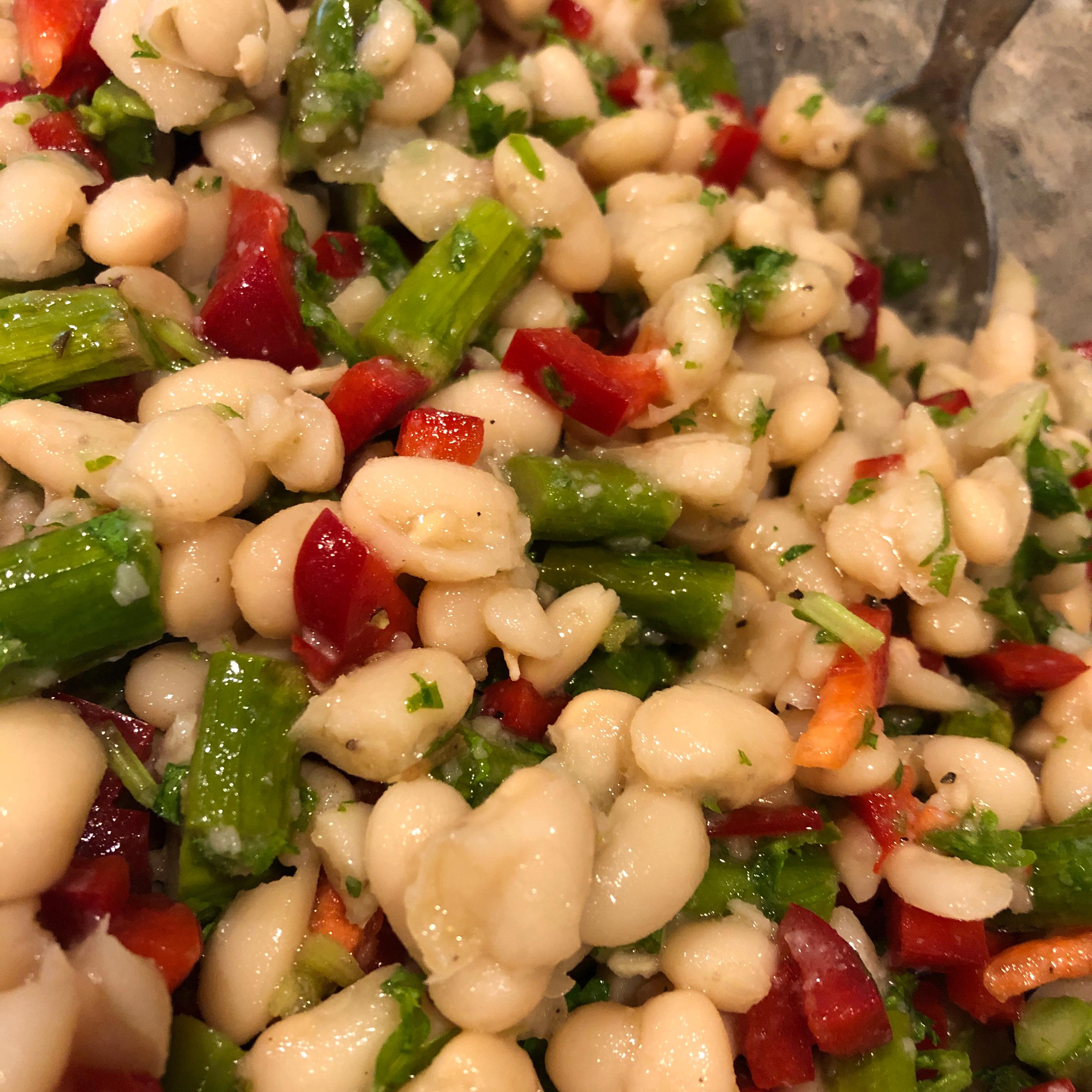 Fresh Asparagus and White Bean Salad Jamie