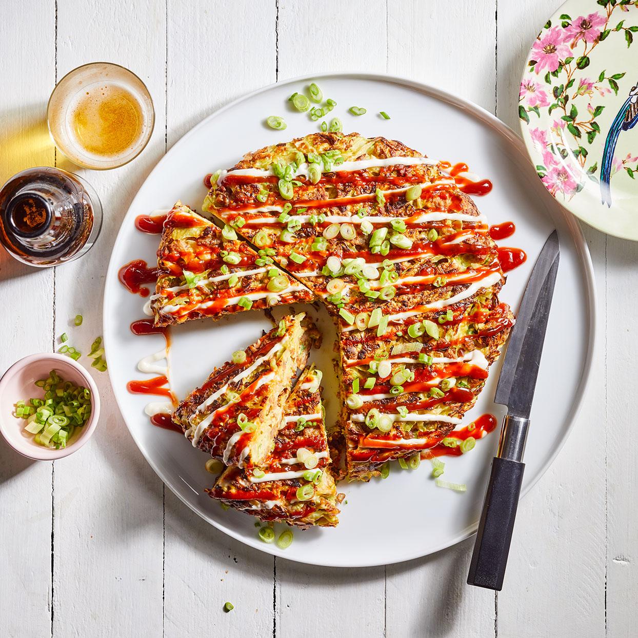Japanese Pancake with Pork (Okonomiyaki) Trusted Brands