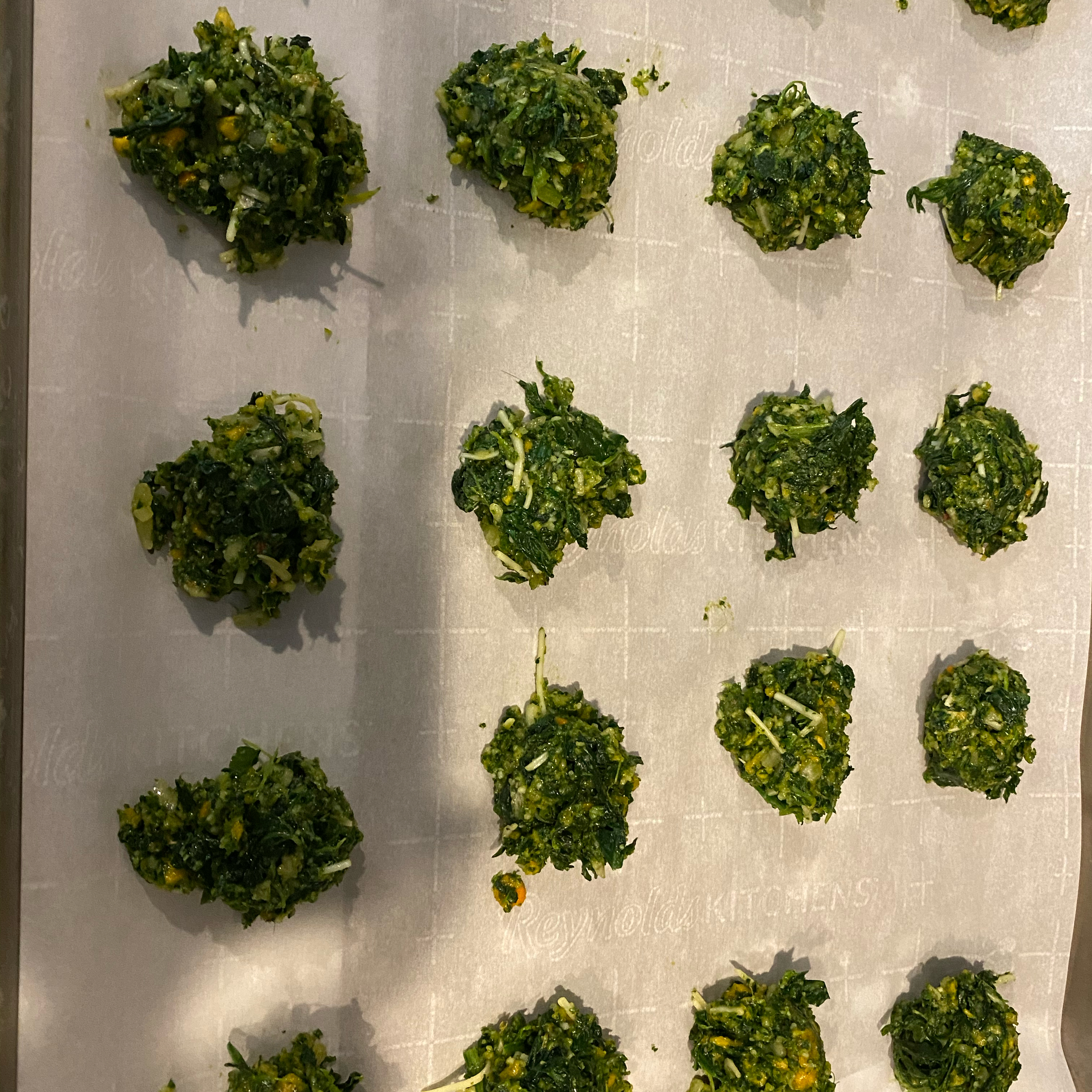 Delicious Herbed Spinach and Kale Balls Andrea Lee Bishop
