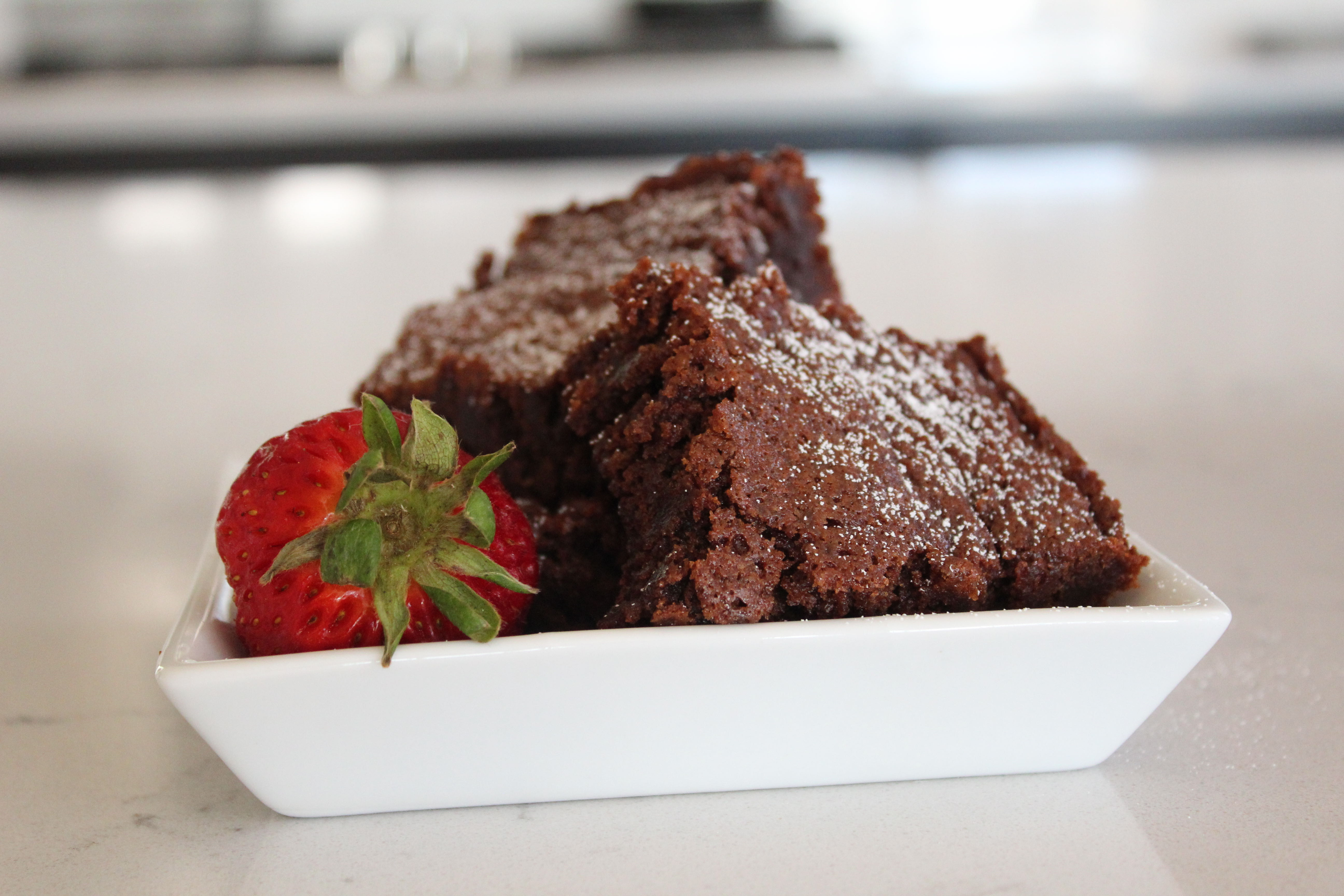 Kristin's Fudgy Brownies sanzoe