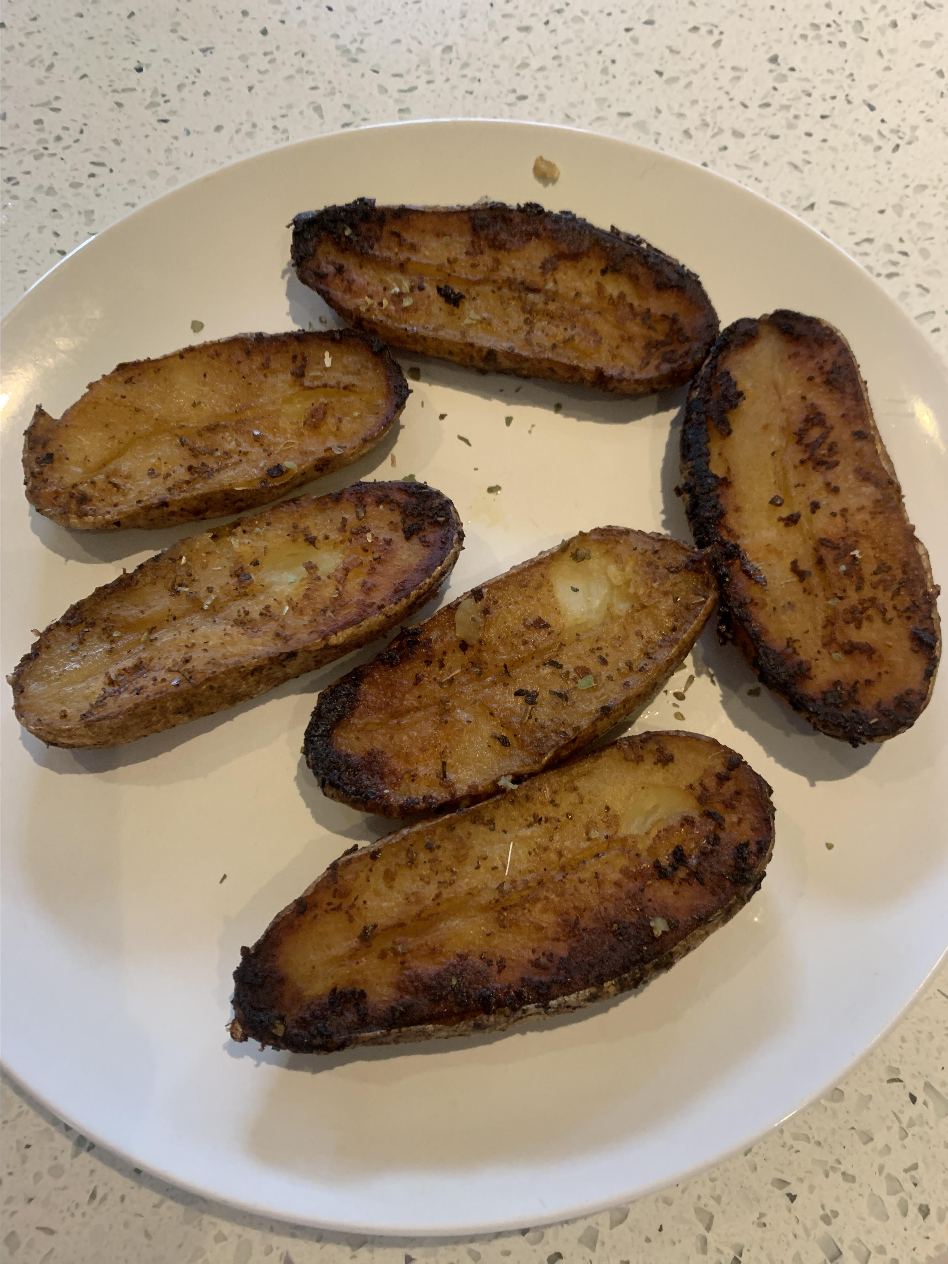 Roasted Lemon Pepper Potatoes april c