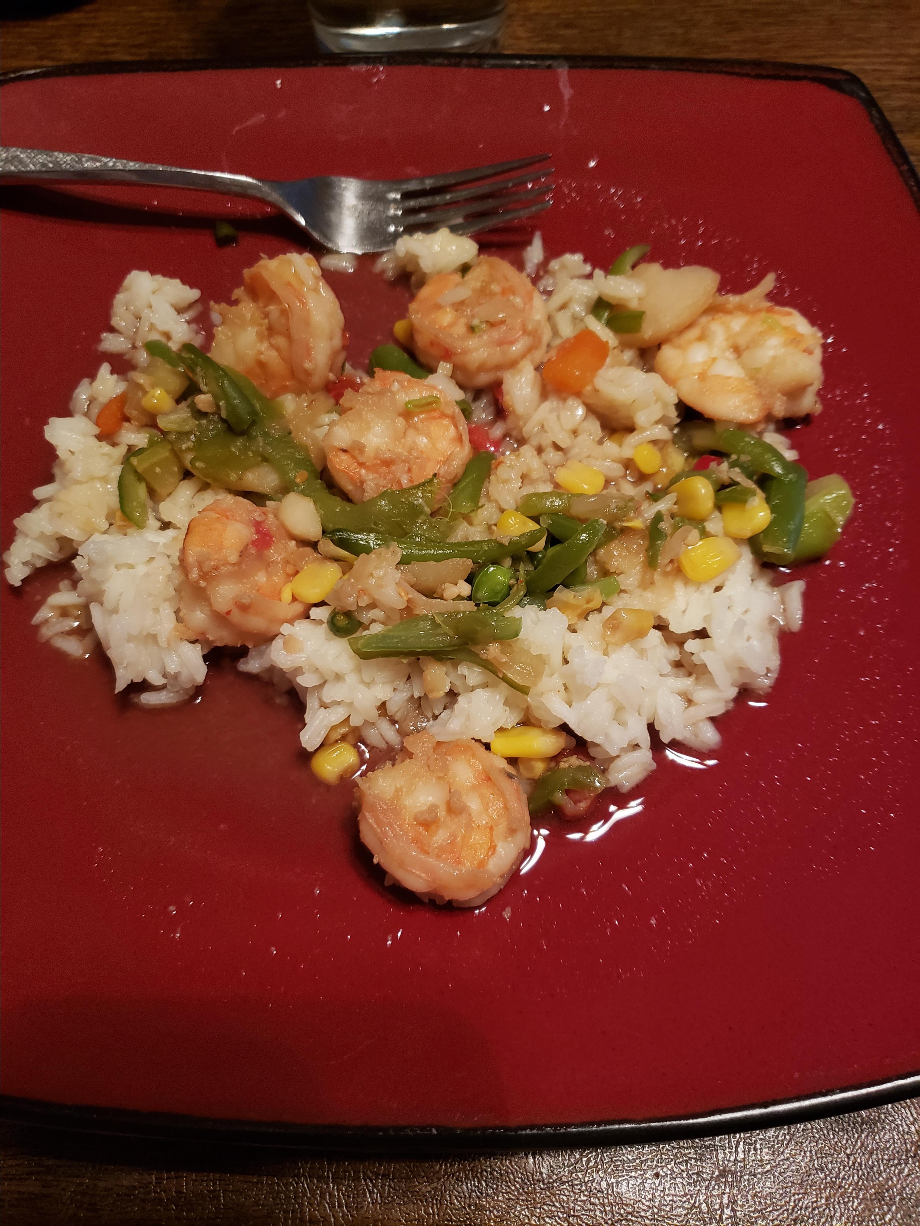 Shrimp Teriyaki Lori Baldyga Famularo