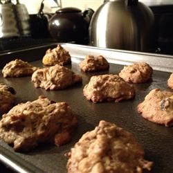 Persimmon Raisin Cookies