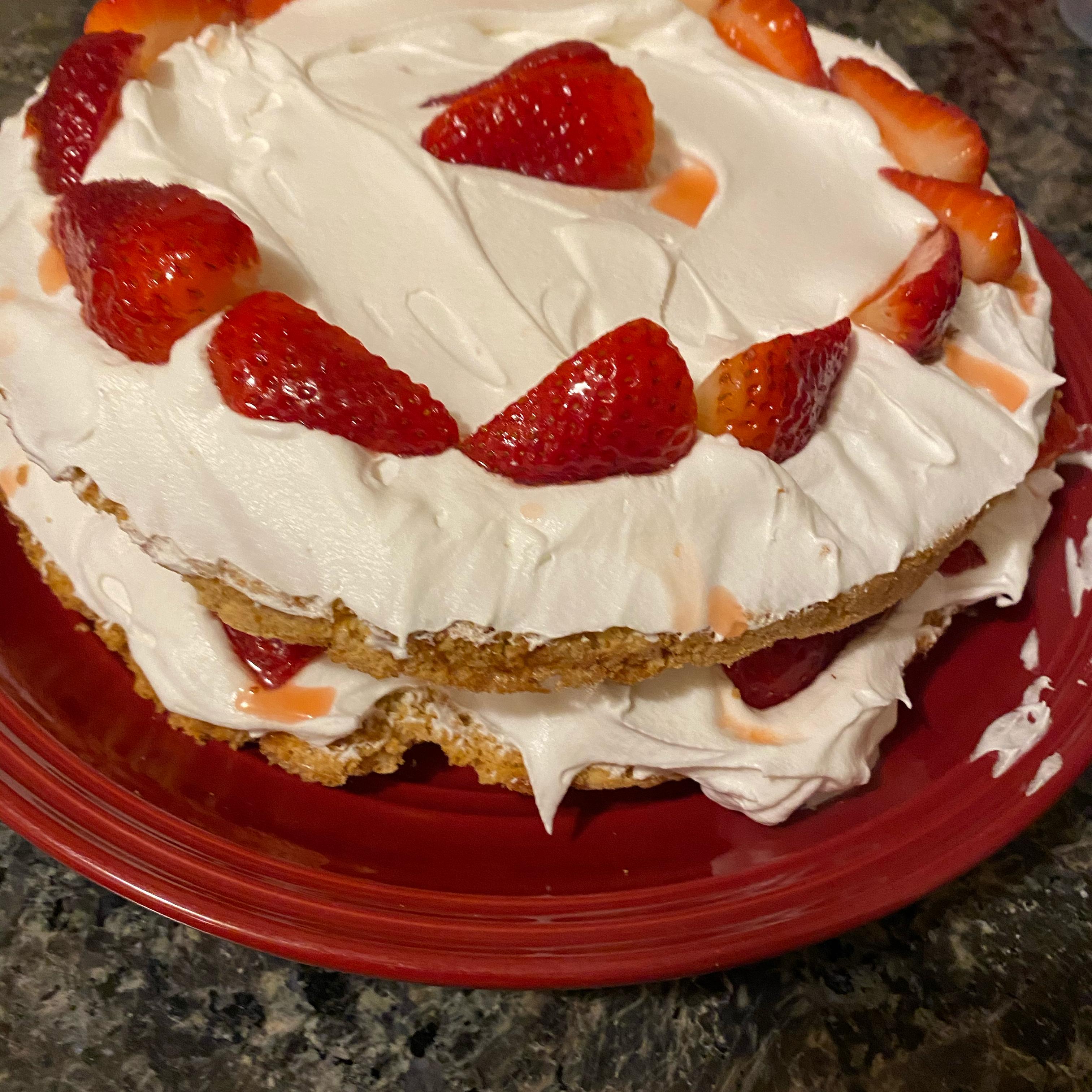Sensational Strawberry Shortcake Chanel's mom