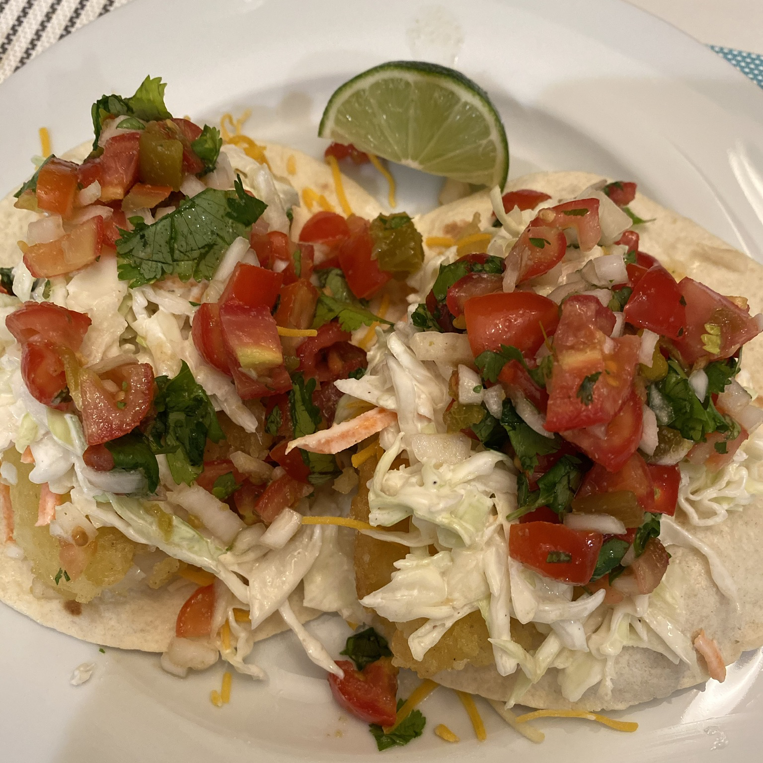 Baja Style Fish Tacos clipat
