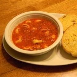 Roasted Red Pepper Soup Doug Collins
