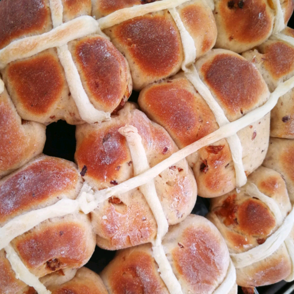 Chef John's Hot Cross Buns Lois Davey