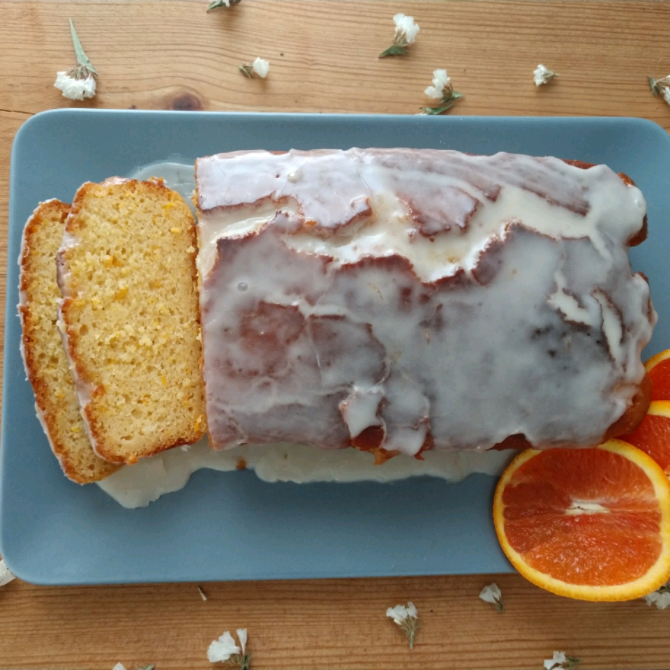 Blood Orange Yogurt Olive Oil Cake jwhdemarco