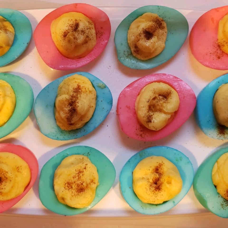 Easter Deviled Eggs Benjamin Williams