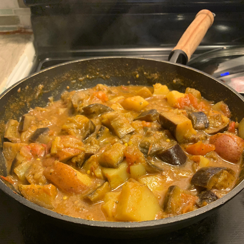 Curried Vegetables kary