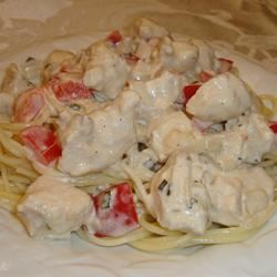 Herbed Chicken and Fettuccini