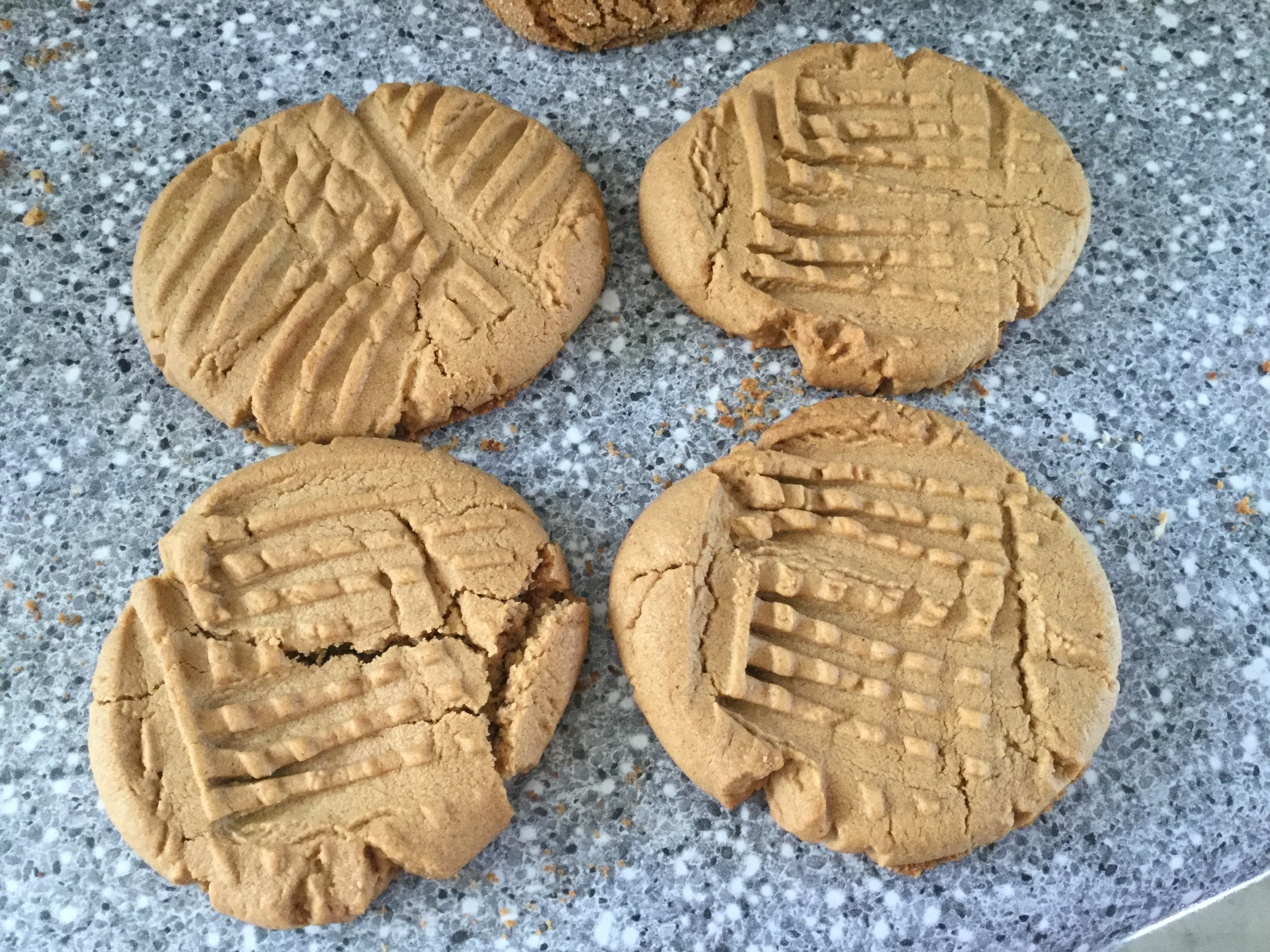 Super-Easy Peanut Butter Cookies Billie Bjornstad