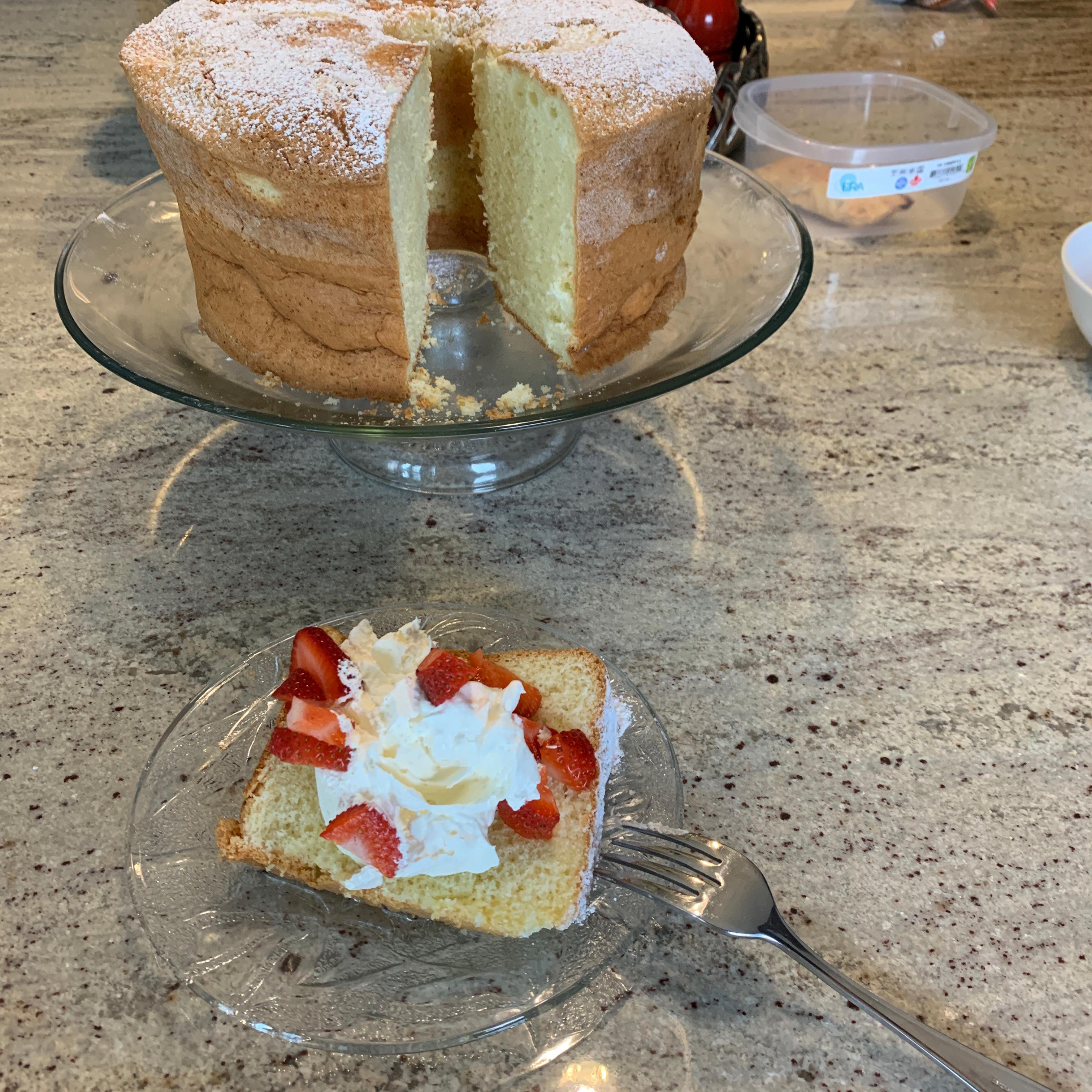 Coconut Chiffon Cake Dorina.russo