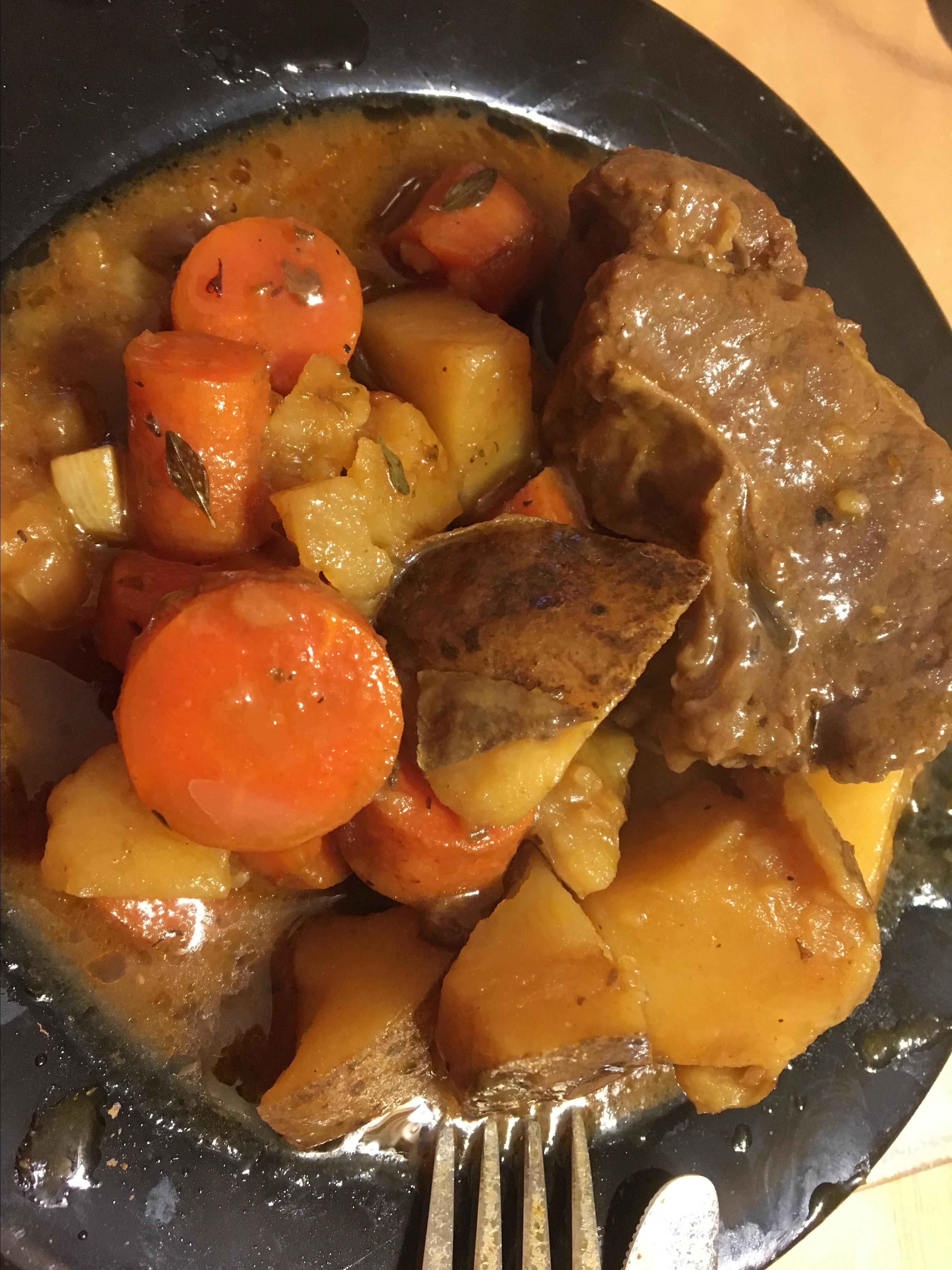 Pot Roast, Vegetables, and Beer Tanya Krolicki