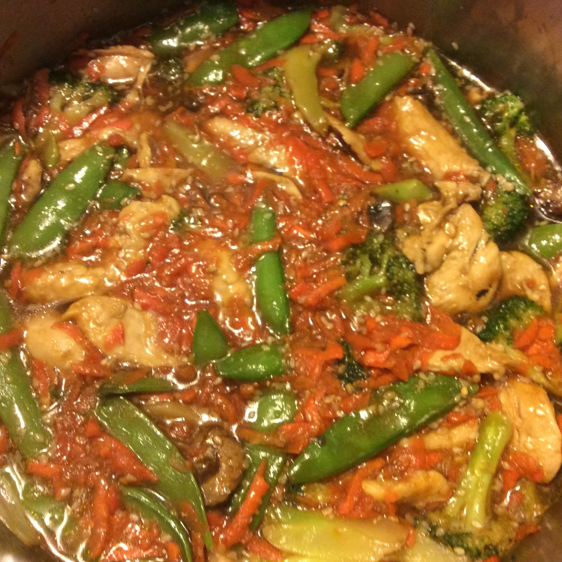 Garlic Chicken Stir Fry