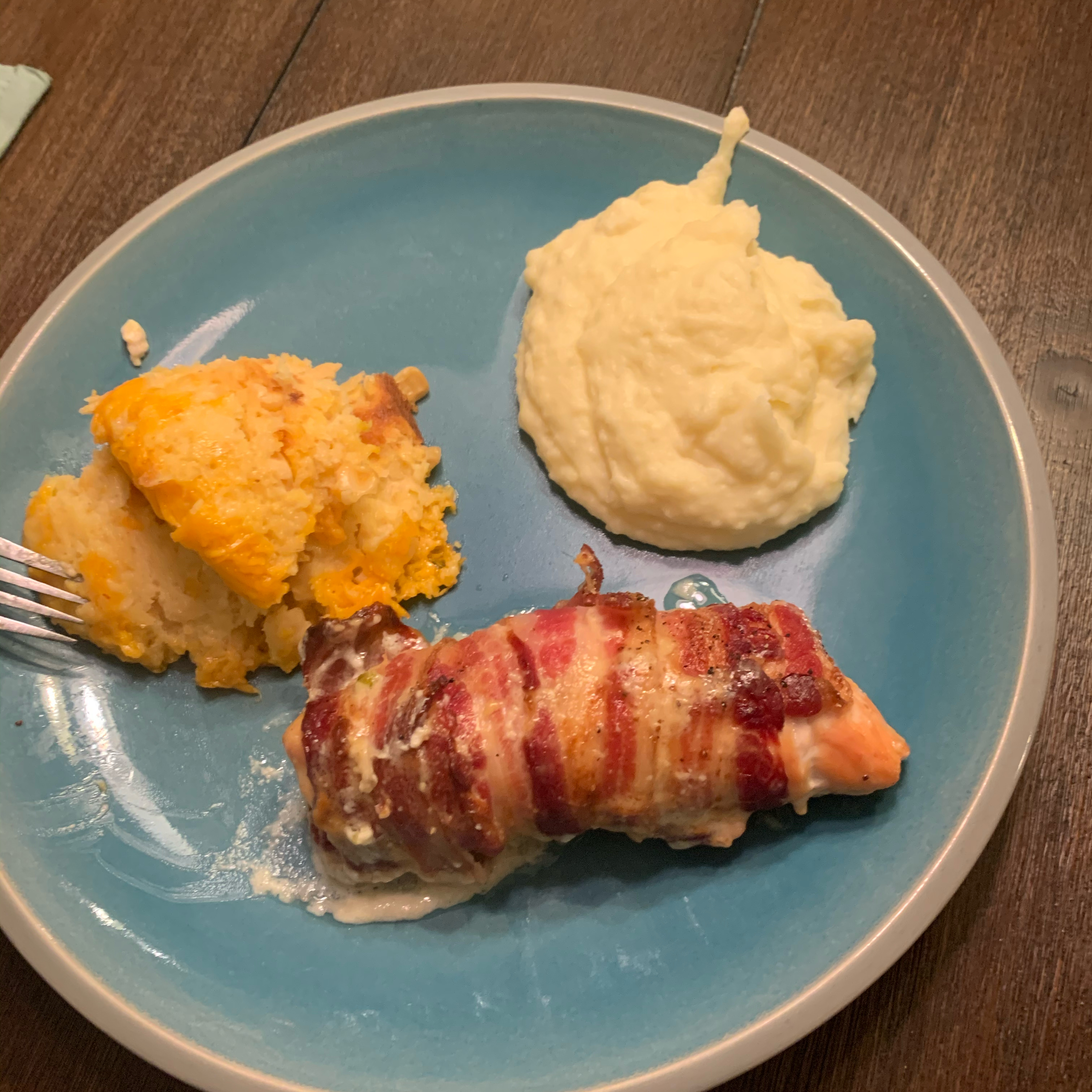 Creamy Bacon-Wrapped Chicken