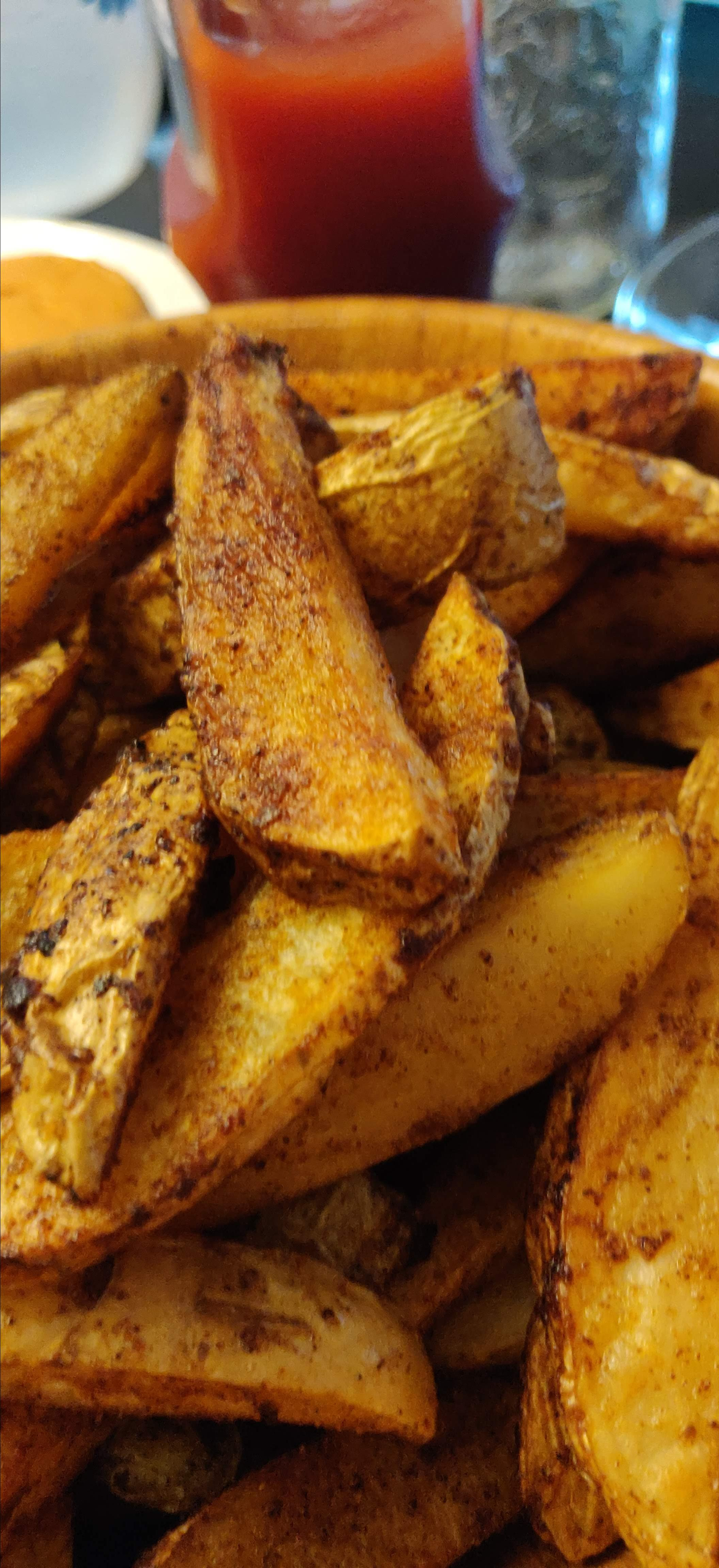 Baked French Fries I Geoff Pender
