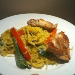 Spaghetti Squash Primavera Mr.Kipps
