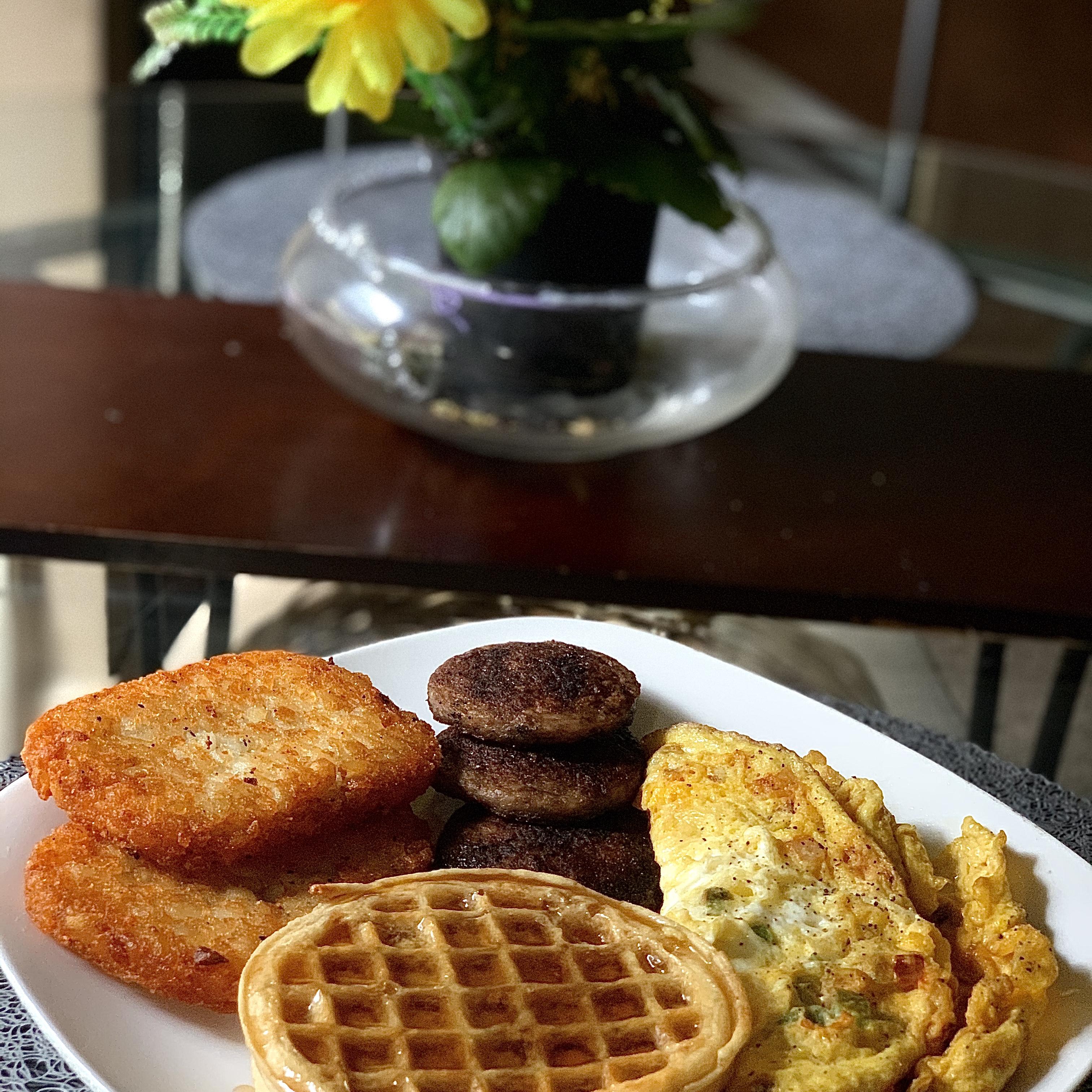 Waffle House® Breakfast Wannabe Derek CuttinClassics Thompson