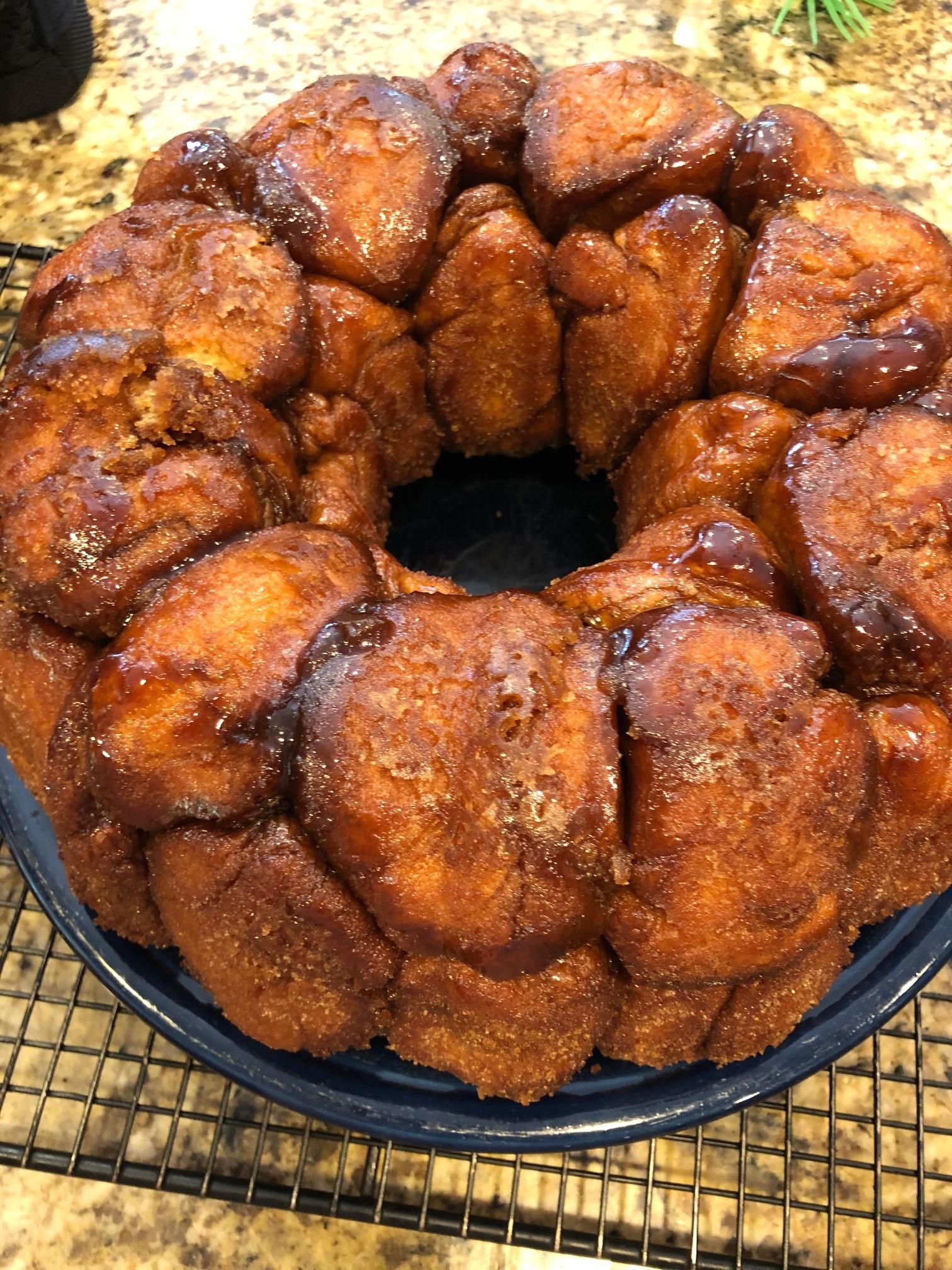 Monkey Bread from Scratch KIKINE22