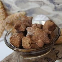 Brie's Banana and Honey Dog Treats TheBritishBaker