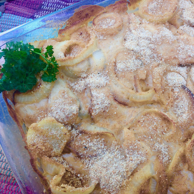 Turkey, Potato, and Onion Casserole