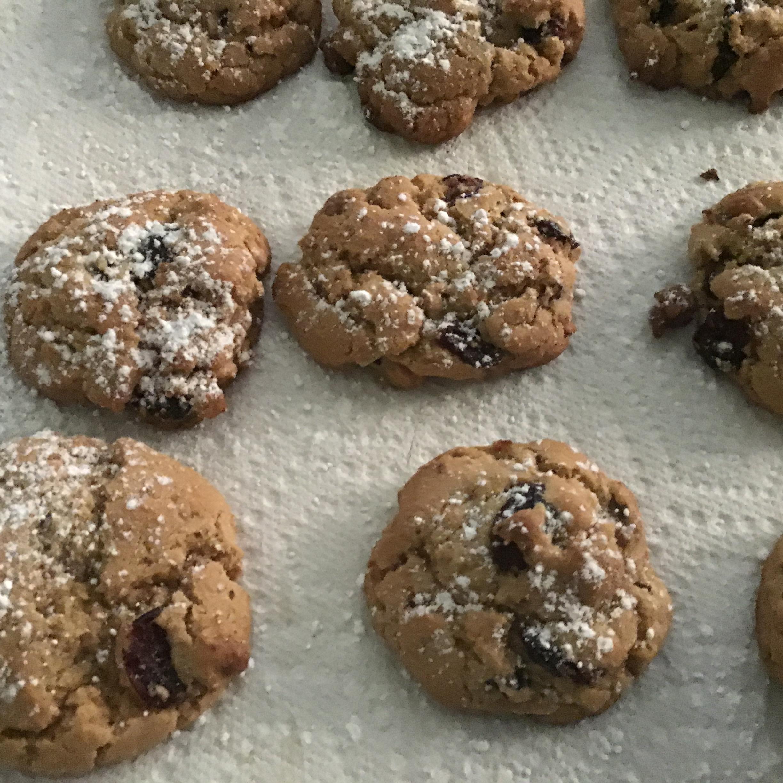 Cranberry Walnut Cookies Debra Lane