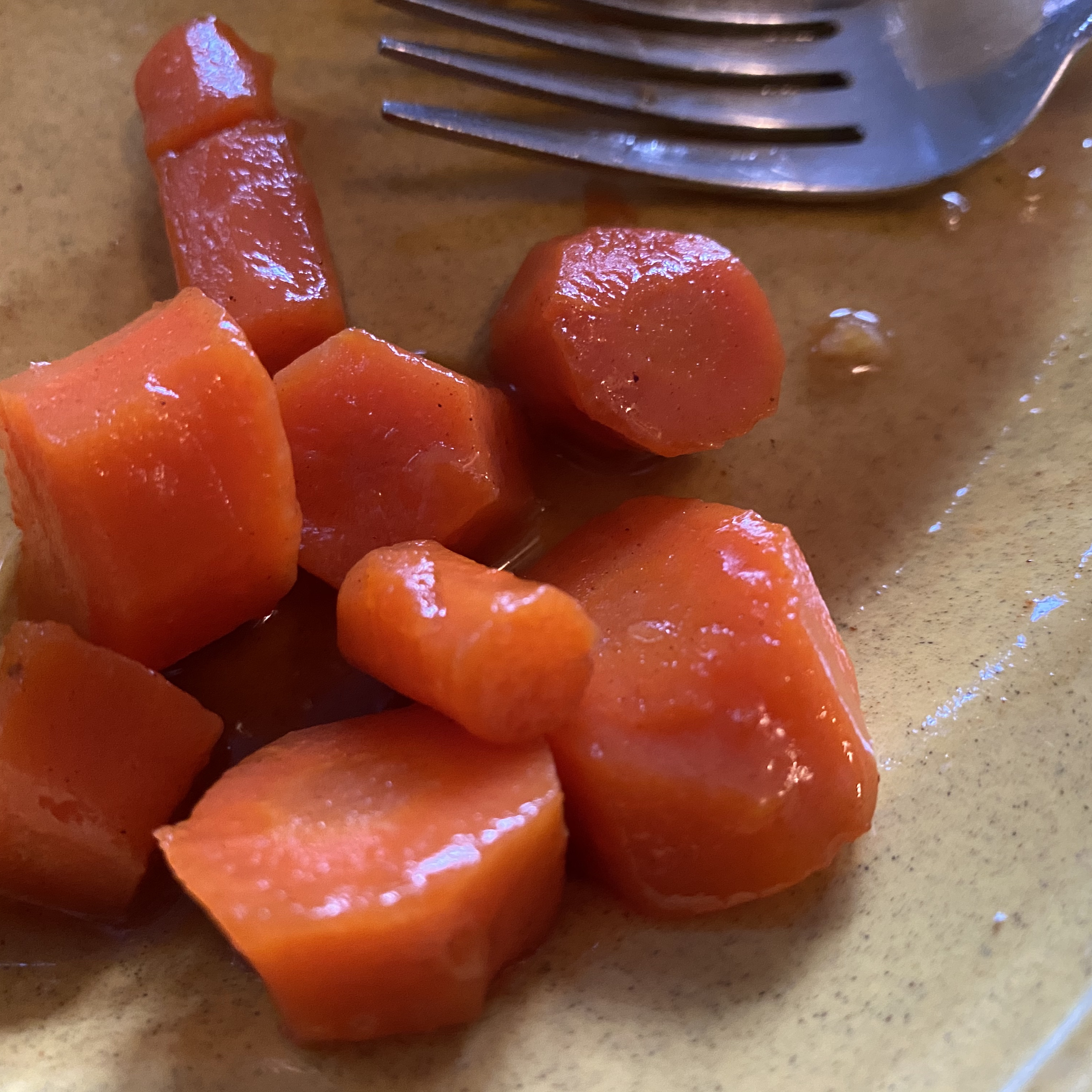 Maple Glazed Carrots Hillary Collier