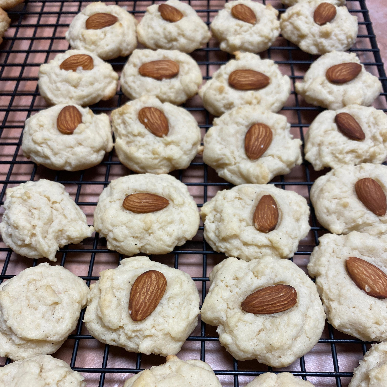Jen's Almond Cardamom Cookies
