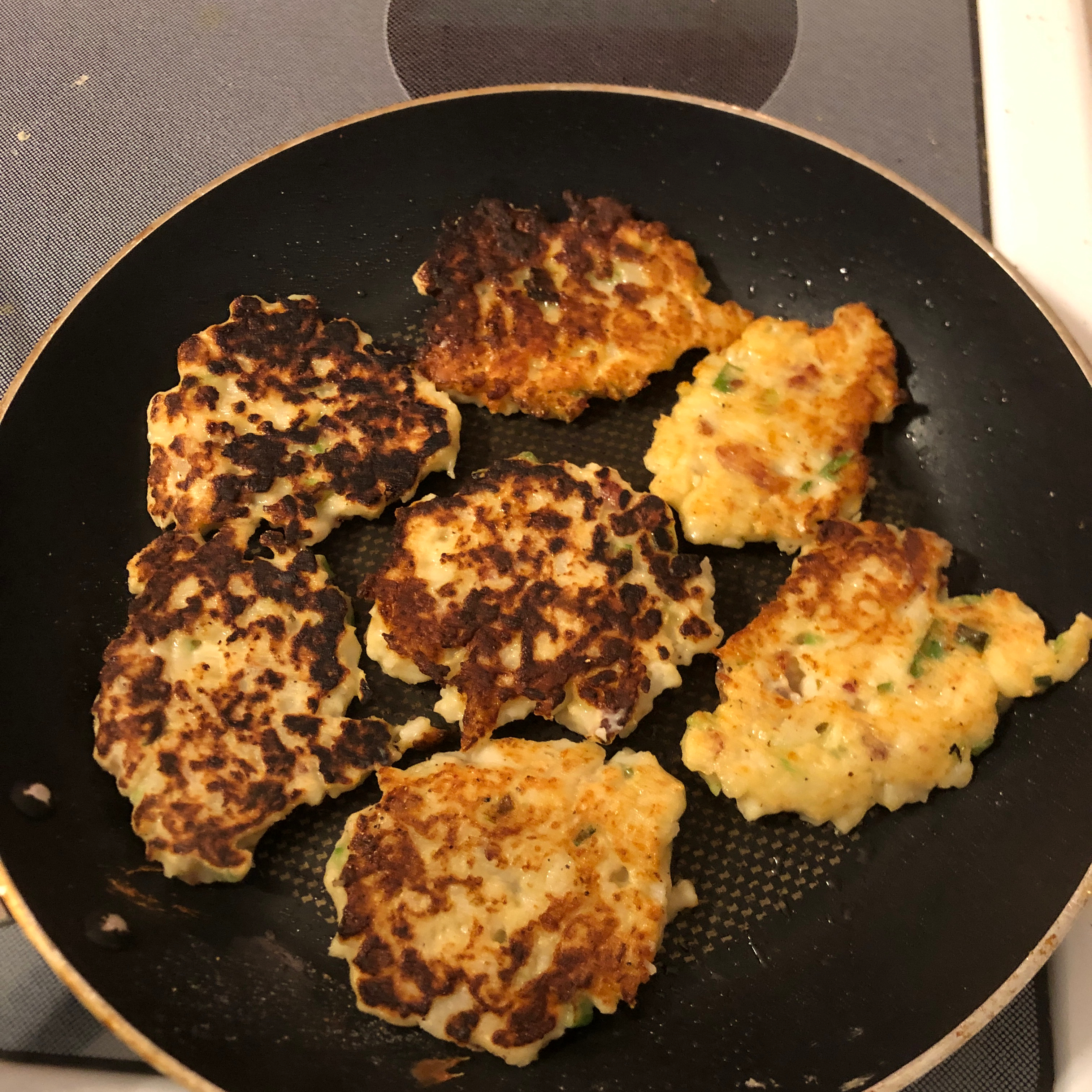 Perfect Cauliflower Fritters