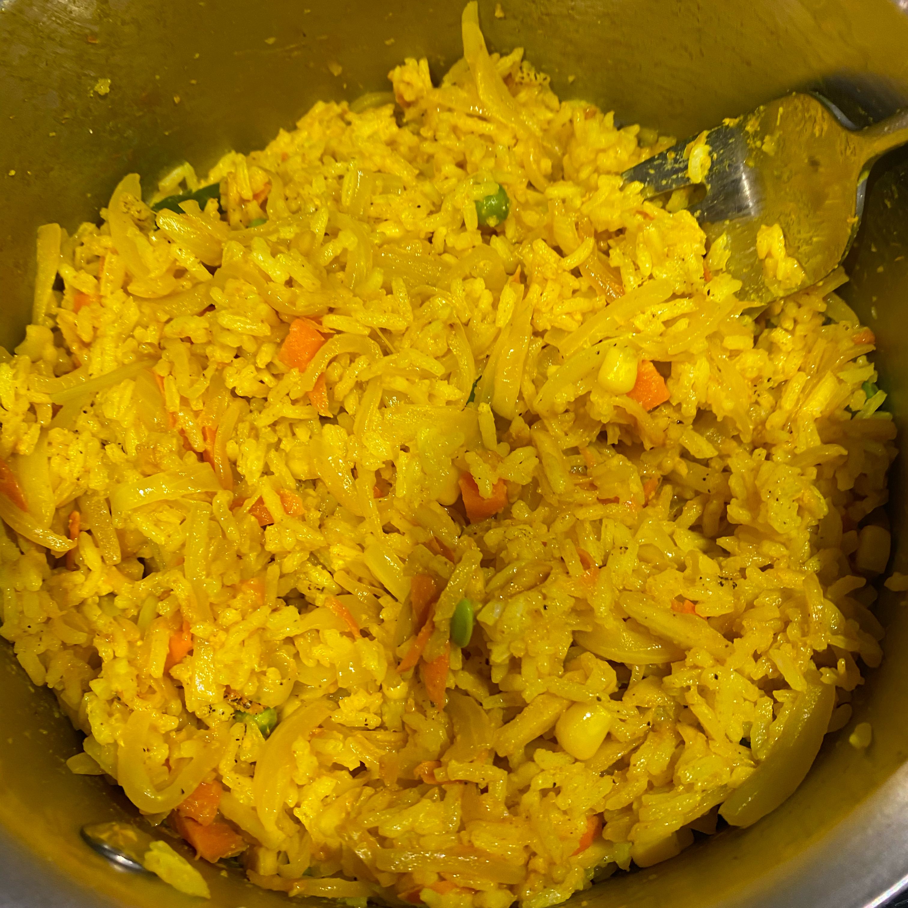 Tammy's Turmeric Rice chloeandhunter