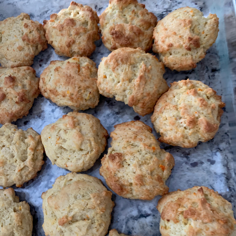 Orange Peel Cookies