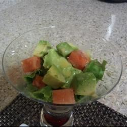 Cool-Off-the-Heat Avocado and Watermelon Salad