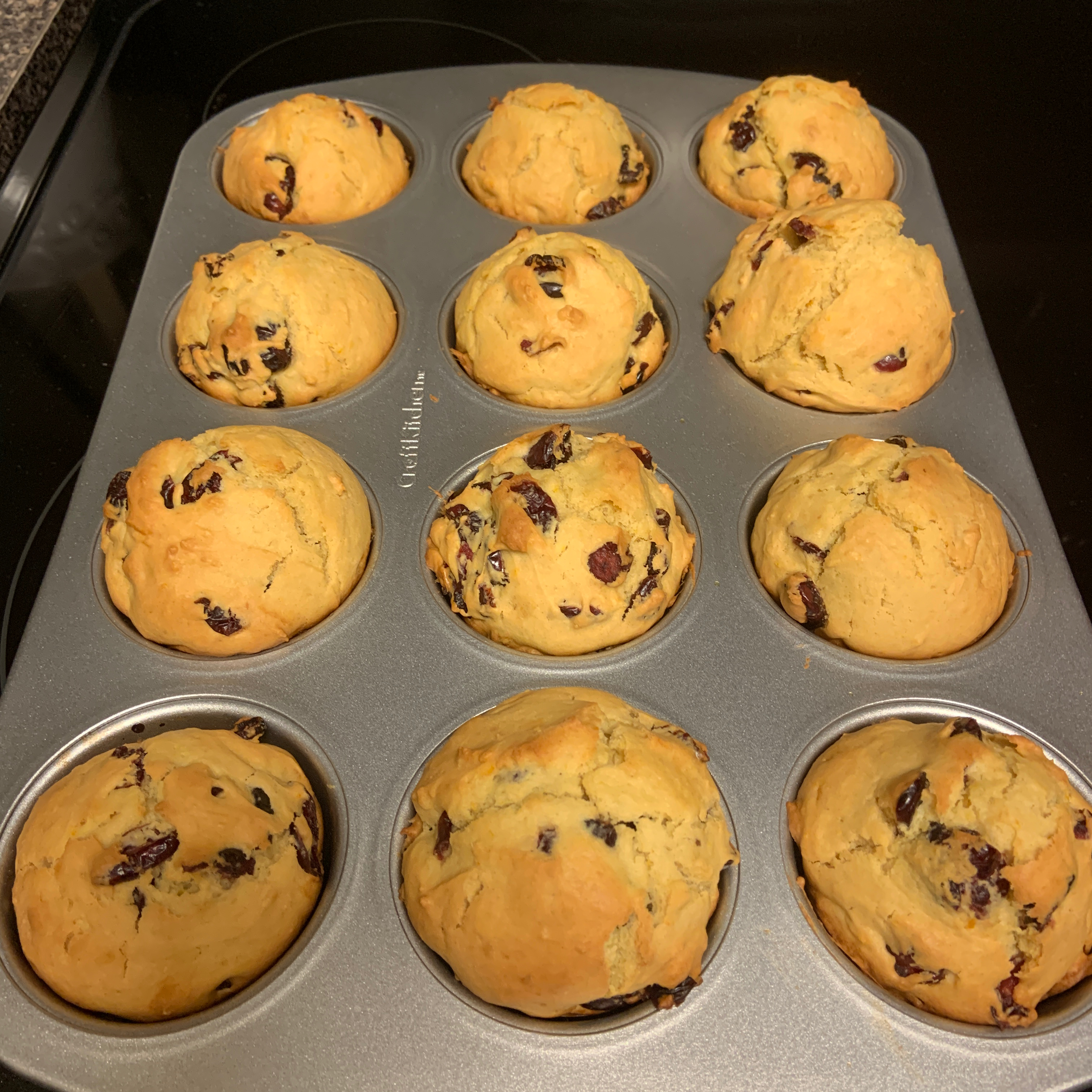 Cranberry Orange Muffins with Truvia® Baking Blend Stephanie Dimino