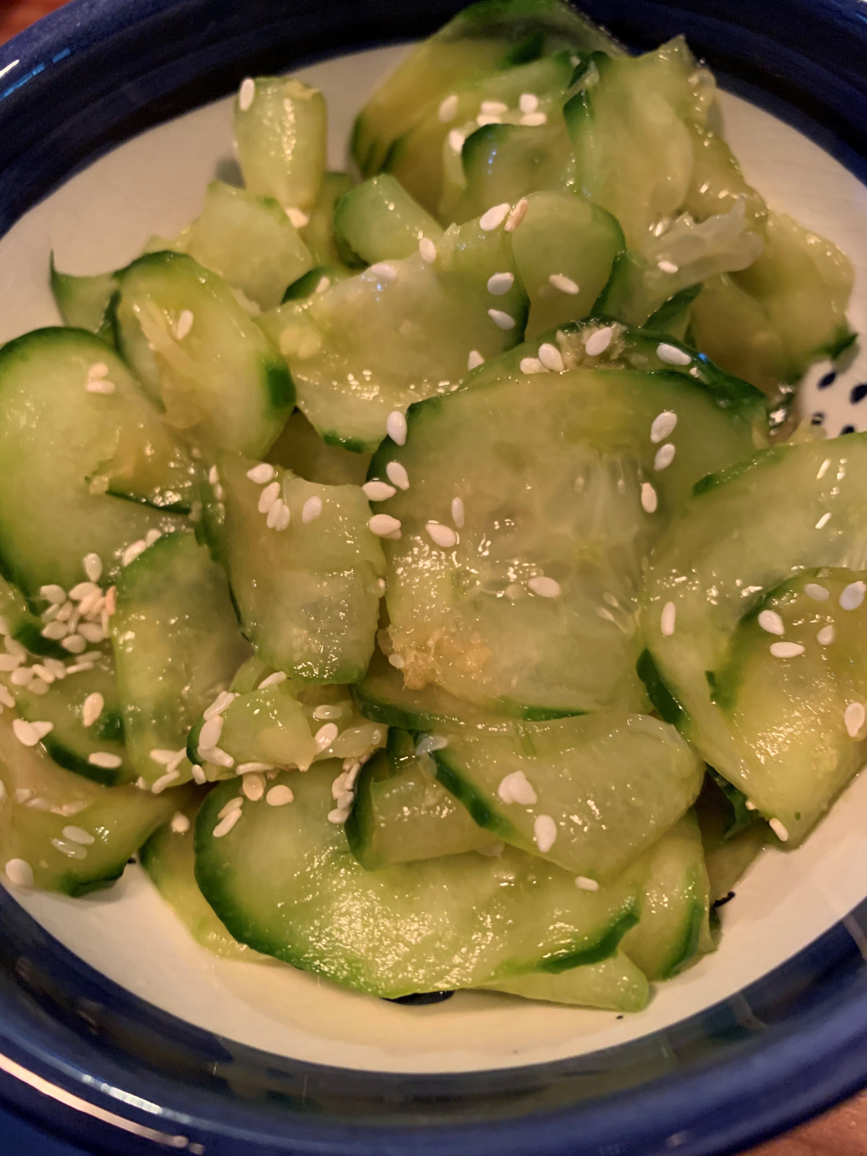 Japanese Cucumber Sunomono Marianne
