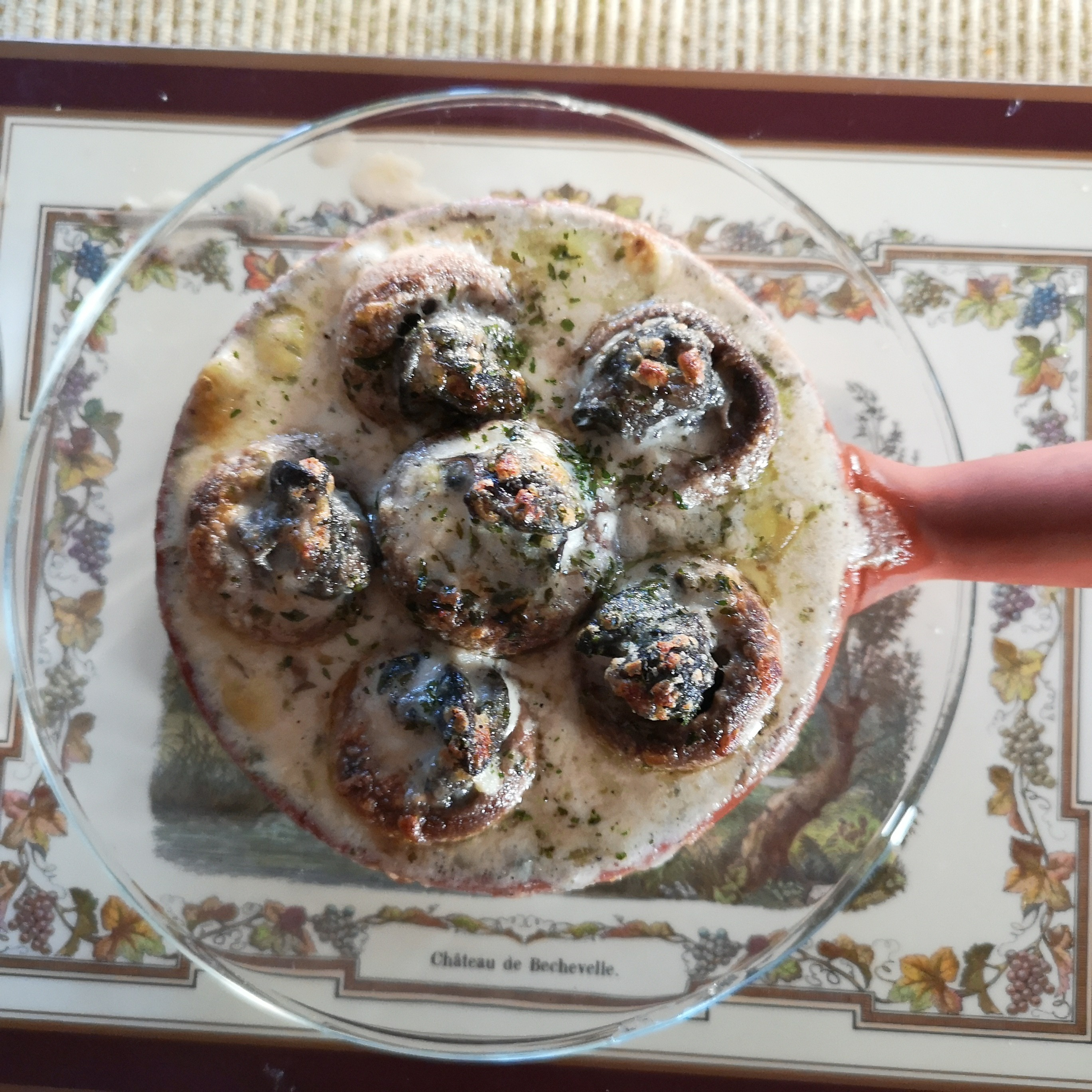 Easy Garlic Escargots DAG