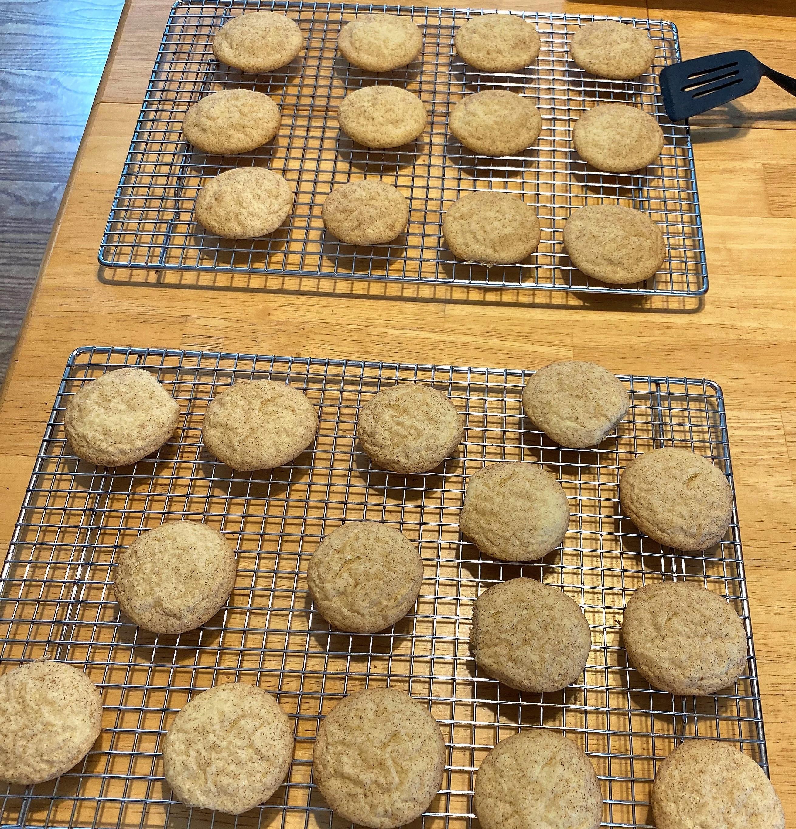 Simple Gluten-Free Snickerdoodle Cookies David Courage