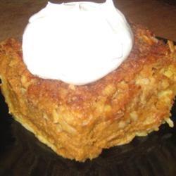 Pumpkin Pie Cake II Dee Stillwell