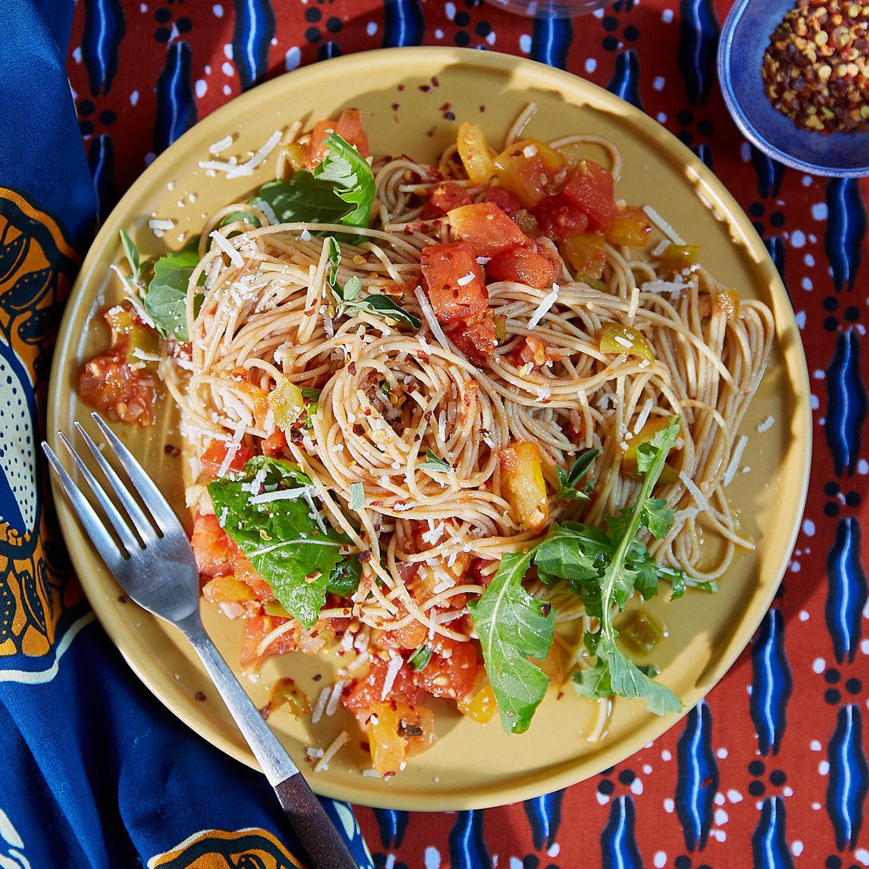 Spicy Tomato & Arugula Pasta Trusted Brands