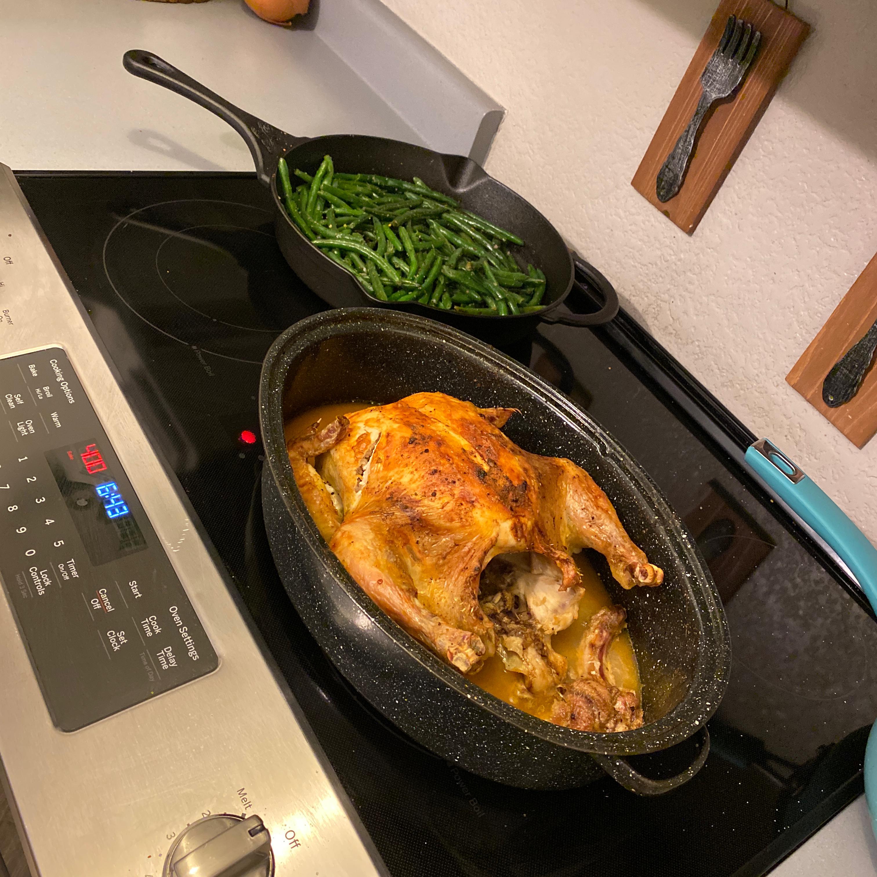 Juicy Roasted Chicken