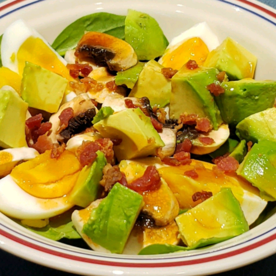 The Best Spinach Salad