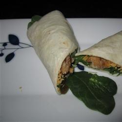 Baked Tofu Spinach Wrap Dorothy Klingensmith