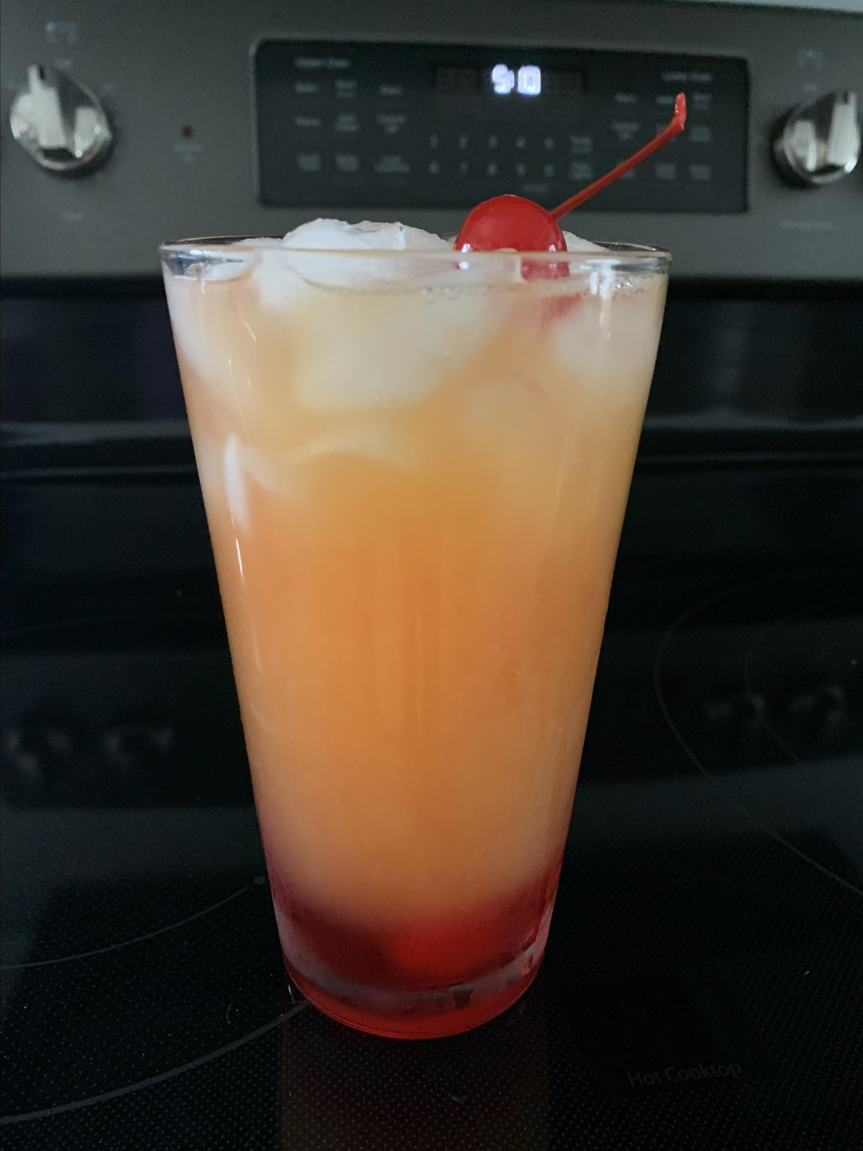 Pineapple Upside-Down Cake in a Glass emilyhaycraft