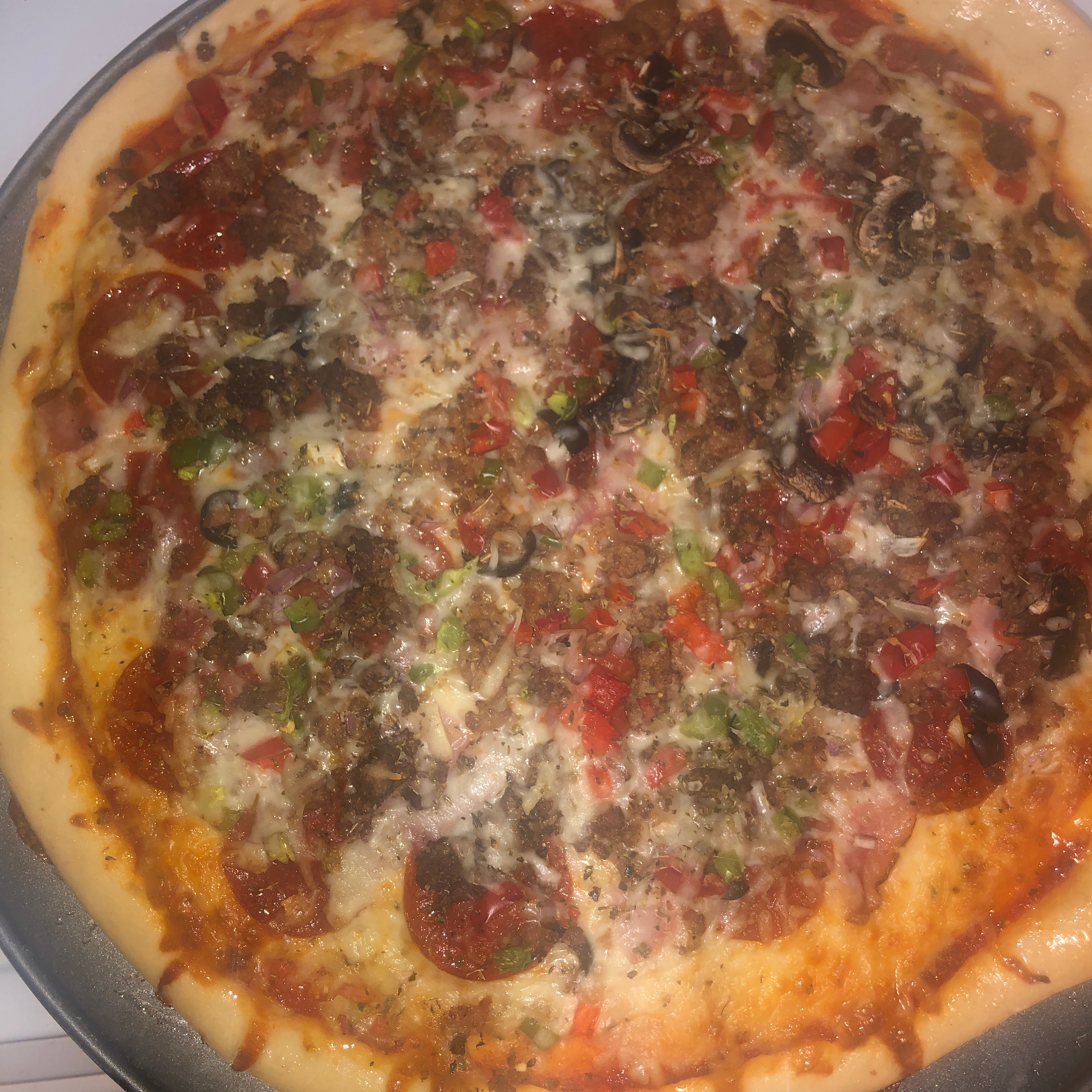 Quick and Easy Pizza Crust