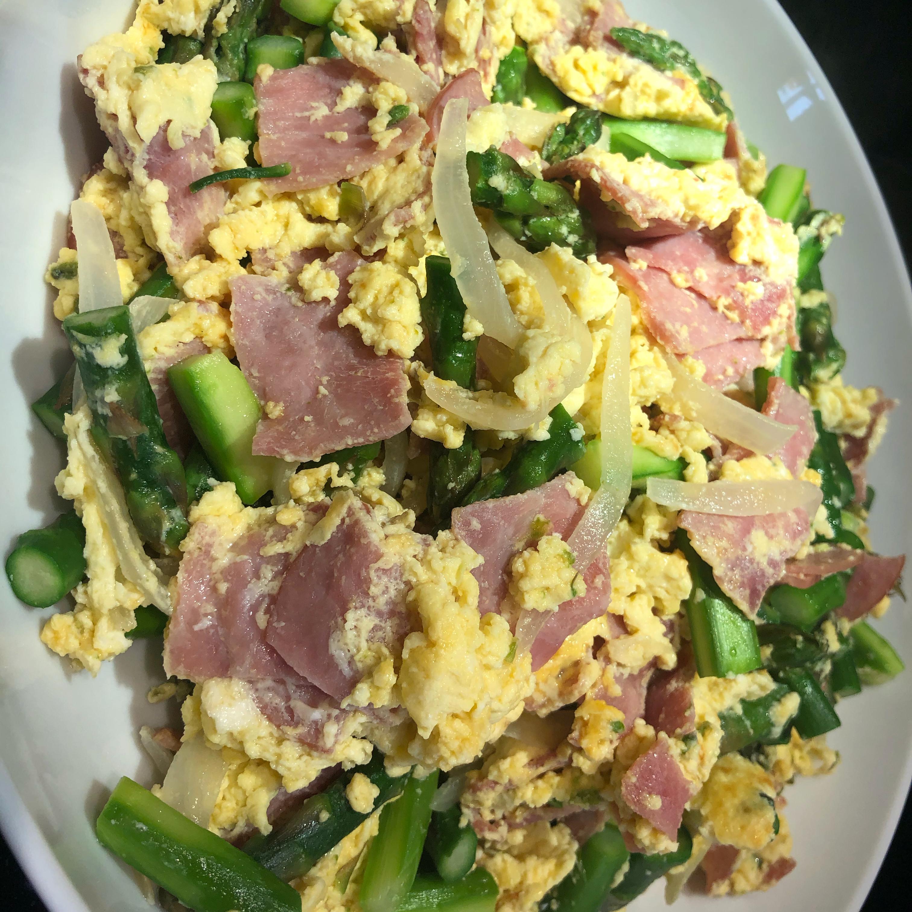 Asparagus Omelet Shen/Yu Casa